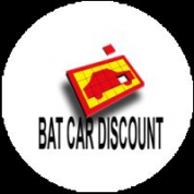Logo Bat Car Discount